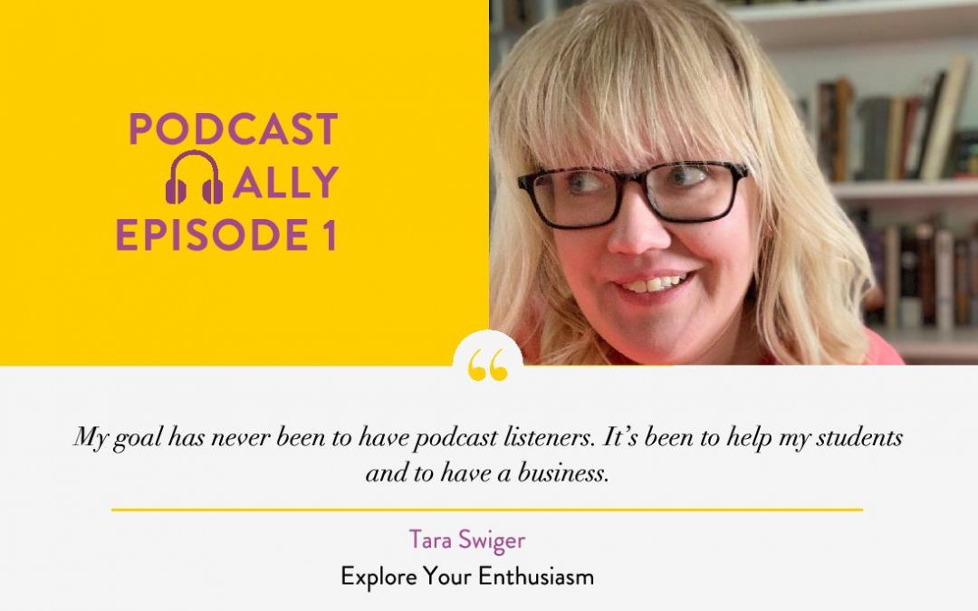 Keeping the Enthusiasm Alive for 300 Episodes with Tara Swiger